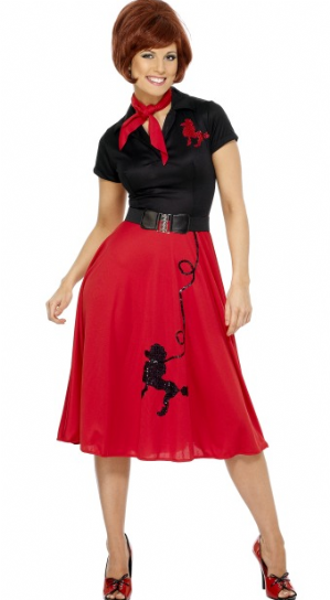50's Style Poodle Plus Size Costume